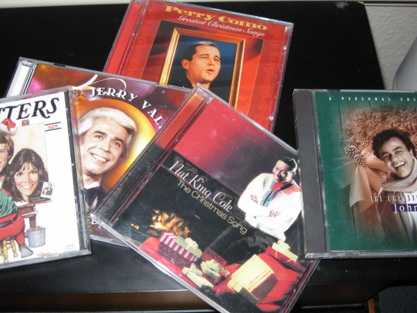 Christmas music-CDs