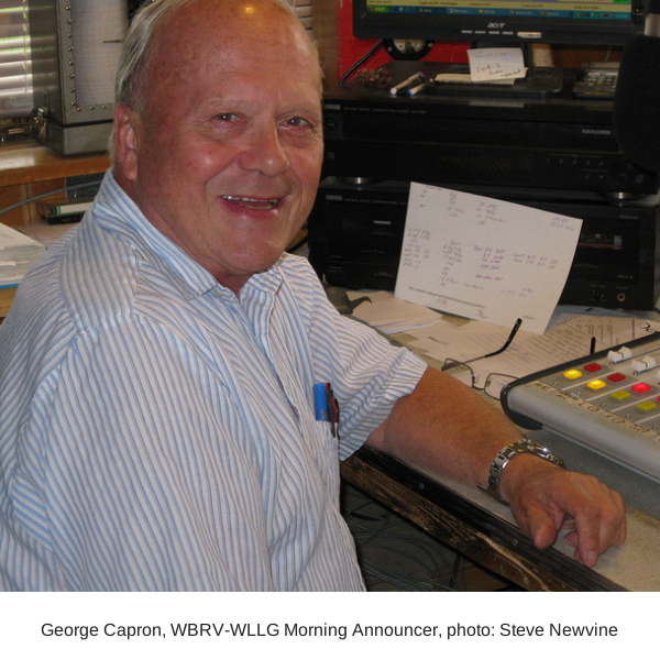George Capron, WBRV-WLLG Morning