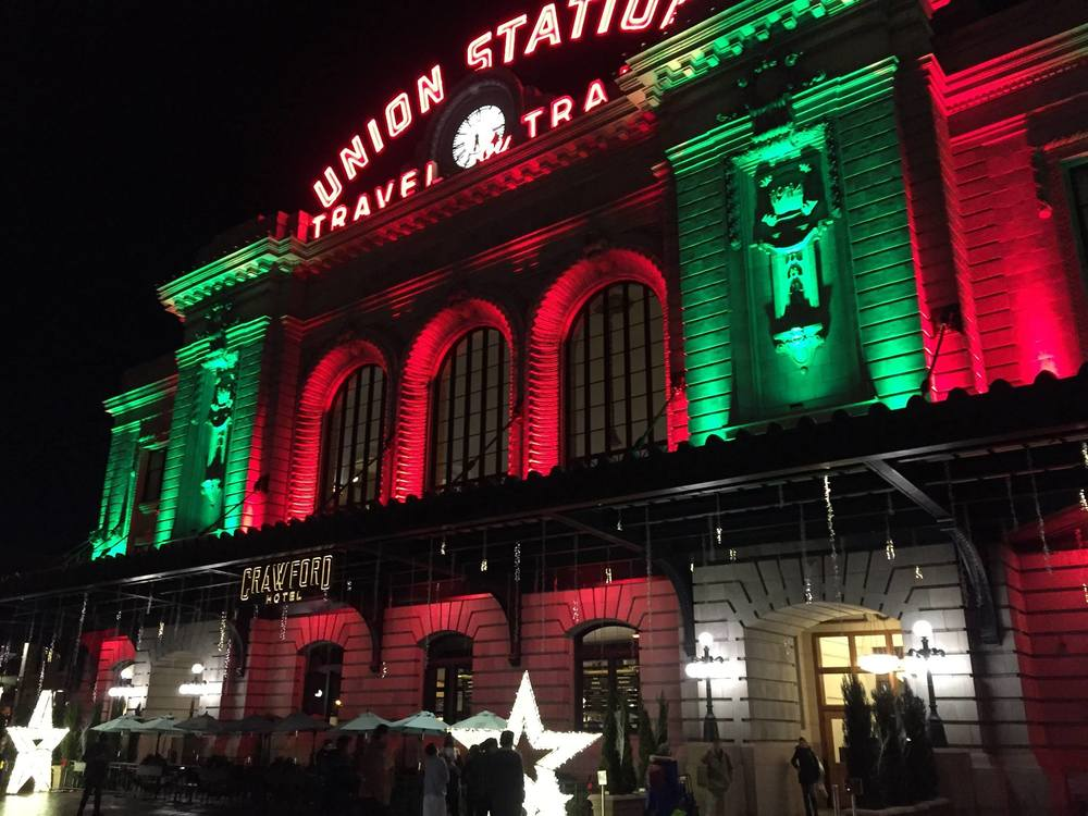 The final destination of our trip was Union Station in Denver.  Photo by Steve Newvine