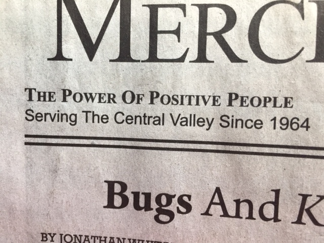 The slogan for all Mid-Valley Publications as stated on the front page:  The Power of Positive People.