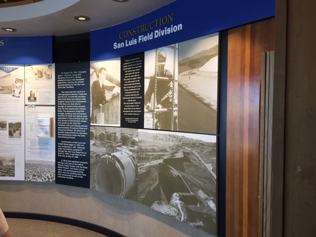 Display inside the center.  photo by steve Newvine