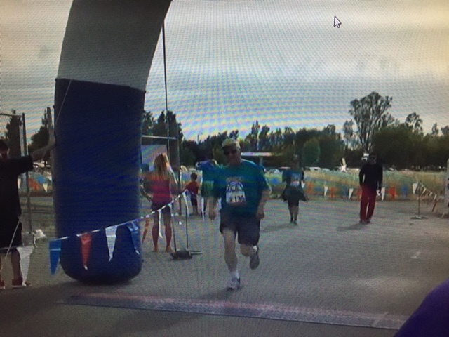 5 K runs, like this one at UC Merced, helped keep me healthy in 2017.  Photo- Newvine Personal Collection