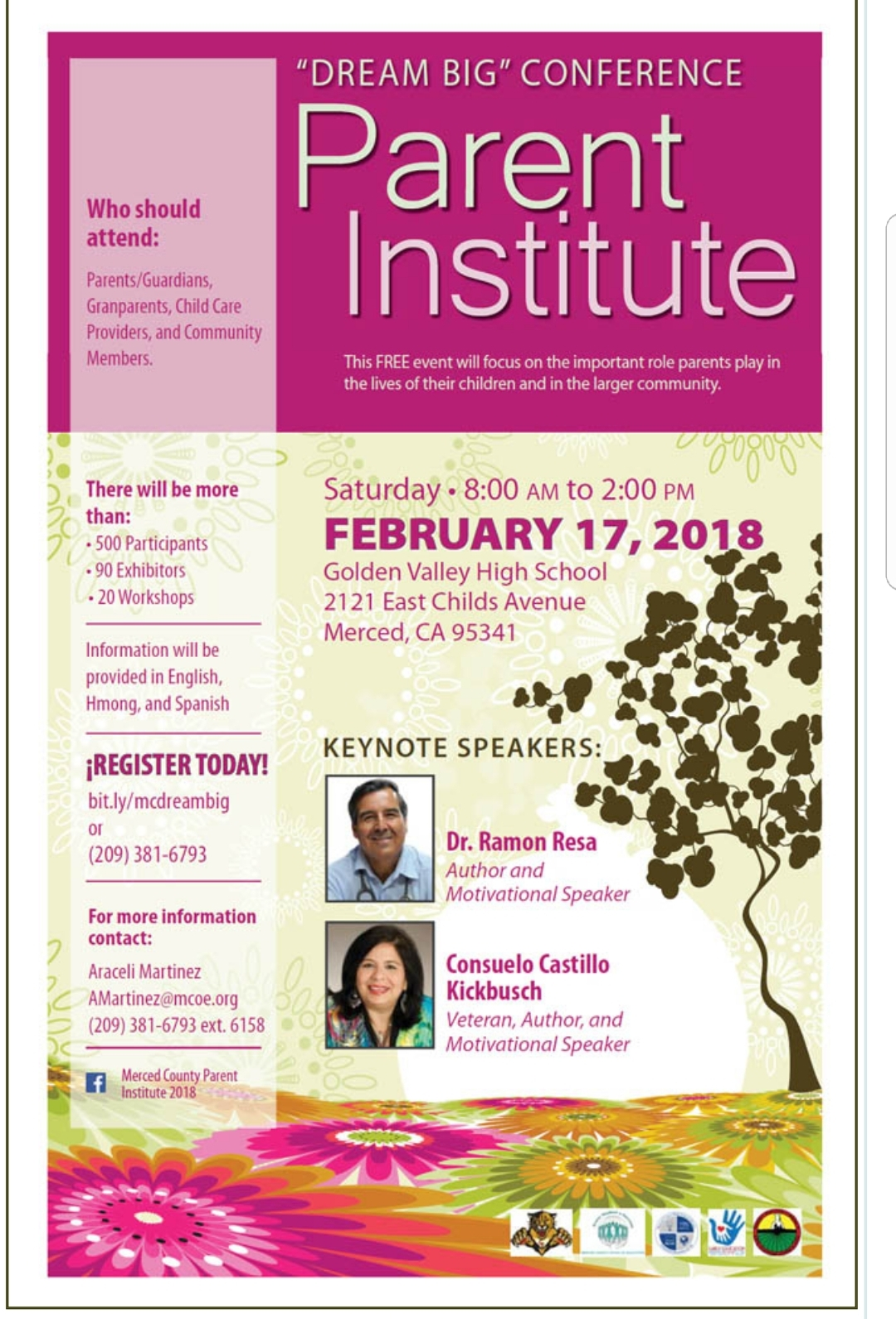 Current events merced county events parent institute dream big conference aiddatafo Images