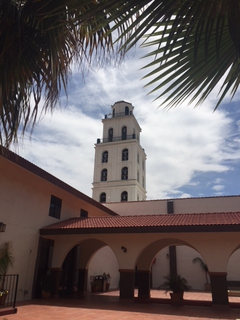 The Hotel Mission De Oro in Santa Nella, Merced County.  Photo by Steve Newvine