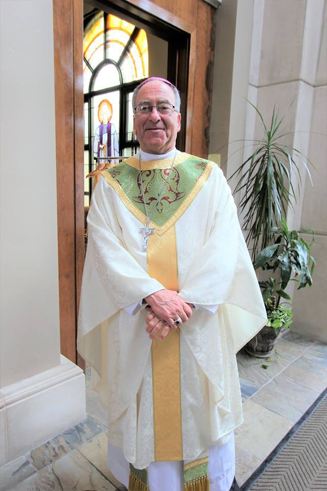 Bishop Myron Cotta. The Dos Palos native is now Bishop of the Diocese of Stockton.  Photo: Diocese of Stockton