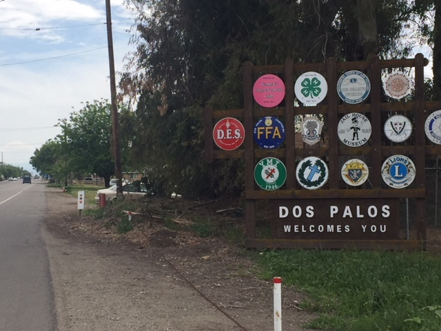 Dos Palos in Merced County has a population of about five-thousand.  Photo: Steve Newvine