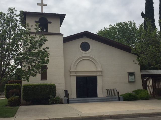 Sacred Heart Catholic Church is where Myron Cotta went to weekly Mass growing up in the 1960s and 1970s.  Photo: Steve Newvine