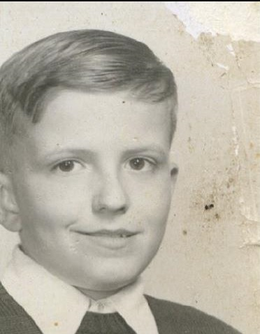 Bill Newvine's school picture from his middle school years.  Photo: Newvine Family Collection