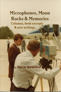 This photo from my personal collection was used as the cover of the book Microphones, Moon Rocks, and Memories. It was taken while I was reporting in the field at station WAAY in Huntsville, Alabama.  Photo: Newvine Personal Collection
