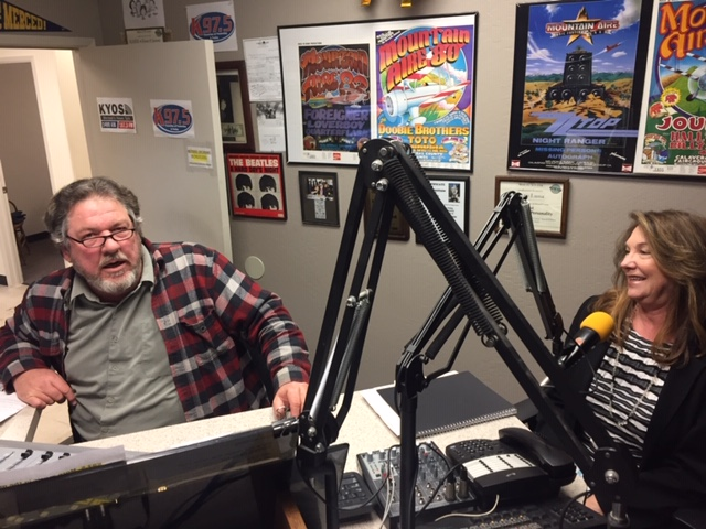 KYOS Program Engineer with guest Casey Stead with Martha Hermosillo, First 5 Merced County