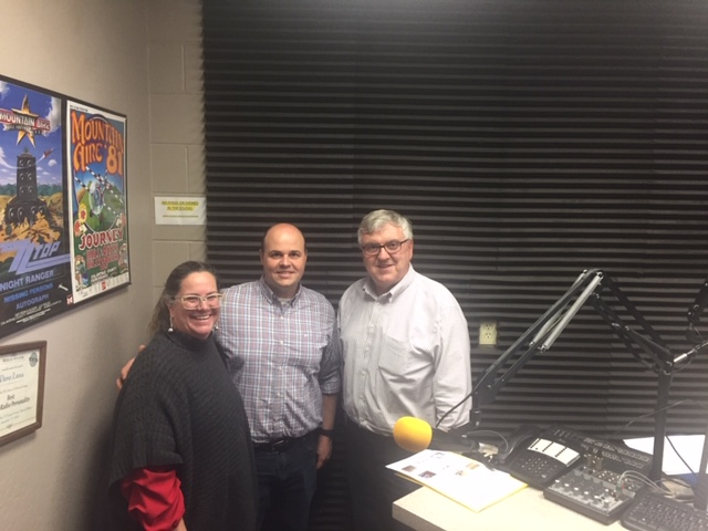 UC Merced's Stephanie Butticci and David Gravano were guests with Steve Newvine on KYOS Community Conversations.