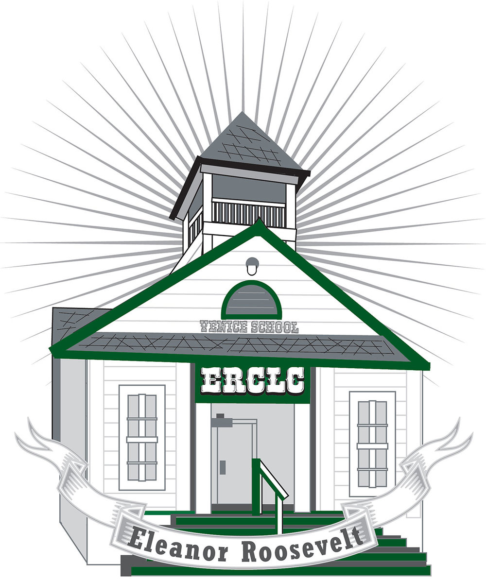 The logo for Learning Center uses the school house image. Photo: ERCLC.
