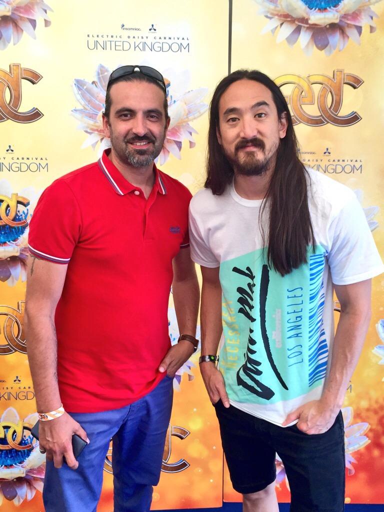 DJ & Producer Koercive with Steve Aoki