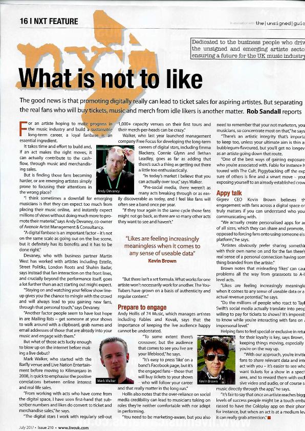 Live UK Magazine