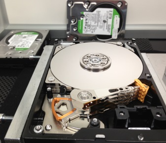 2TB Western Digital getting ready for a head swap
