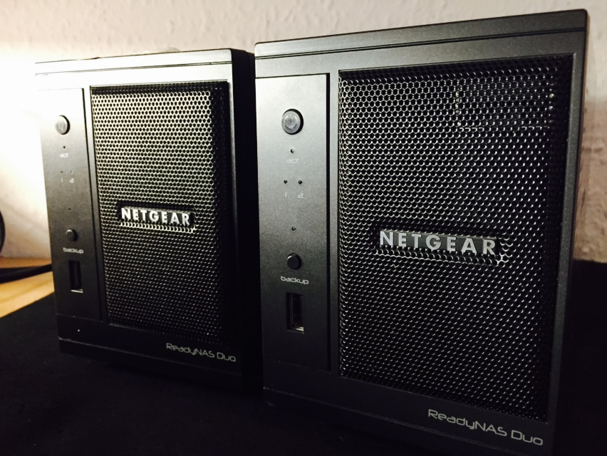 Netgear ReadyNAS Duo Raid 0