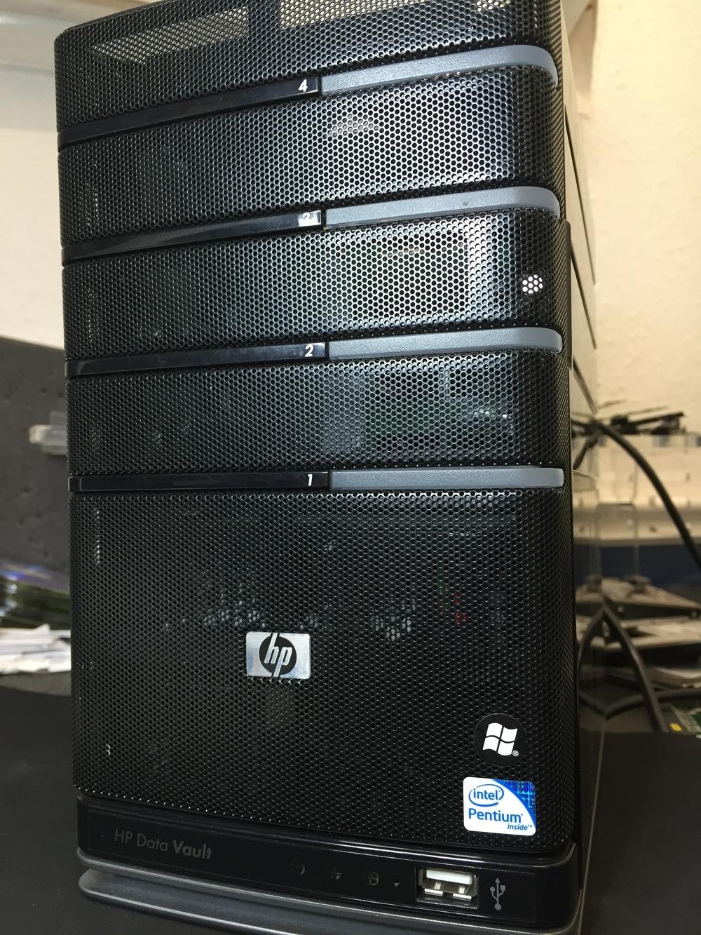 HP Data Vault Raid 5 data recovery