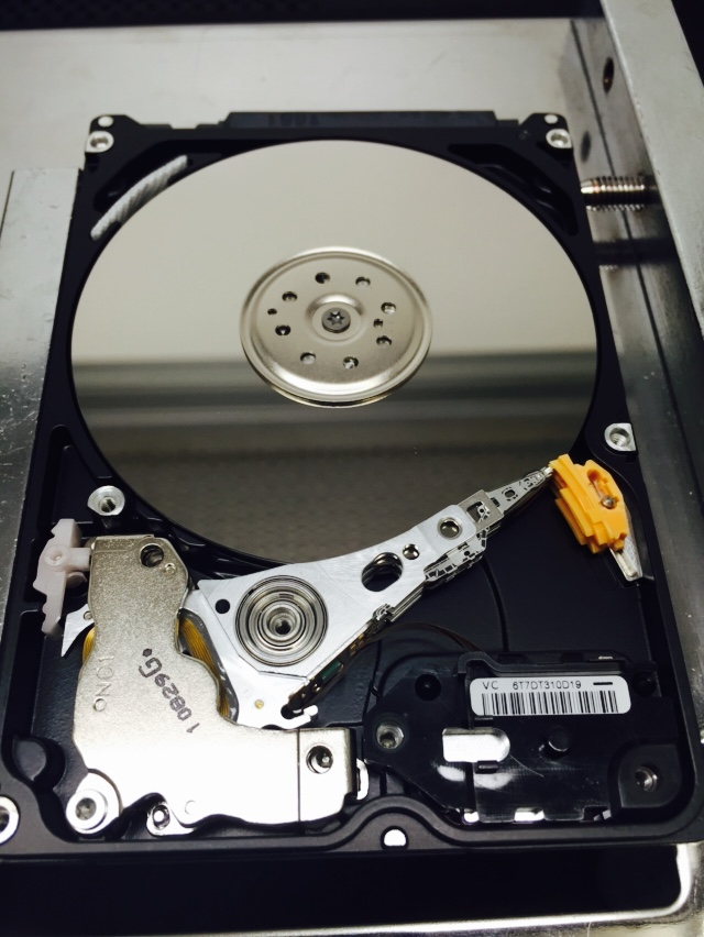 beeping hard drive