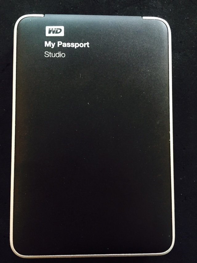 Western digital my passport USB external hard drive