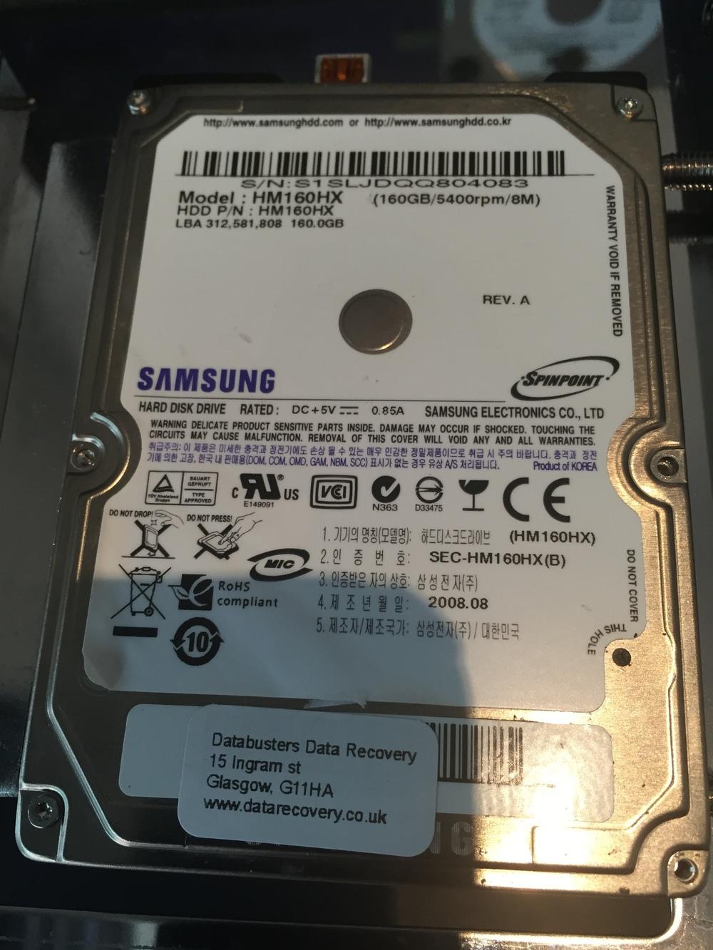 Samsung HM160 HX
