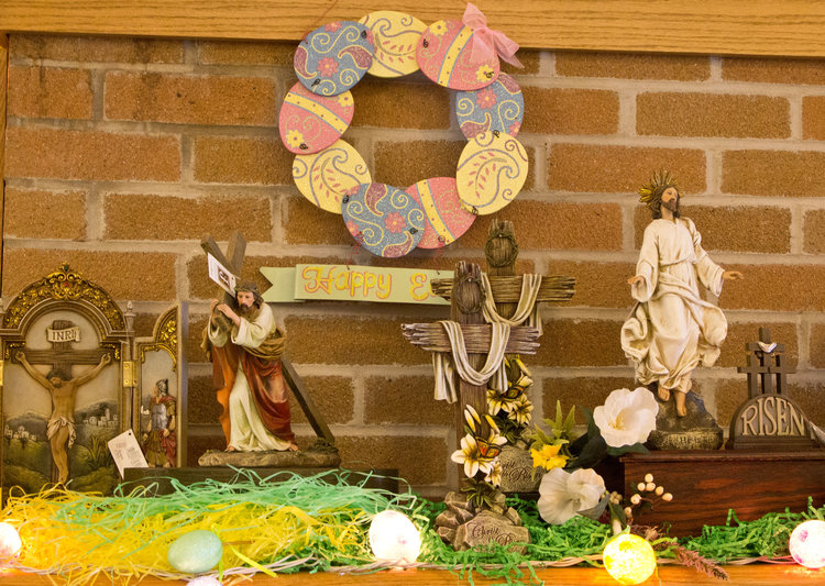 April 2017 st colette catholic church check out the gift shop we have easter items first communion and confirmation gifts with a whole line of greeting cards come see what were doing in your negle Images