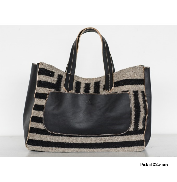 Albán Striped Handbag ($220)