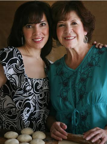 Yvette Marquez-Sharpnack and mom. (Photo Courtesy: MuyBuenoCookbook.com)