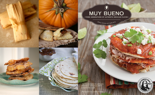 "Yvette Marquez-Sharpnack's ""Muy Bueno"" cookbook.  (Photo Courtesy: MuyBuenoCookbook.com)"