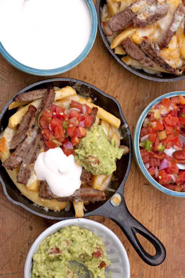 Yvette's carne asada fries. (Photo Courtesy: MuyBuenoCookbook.com)