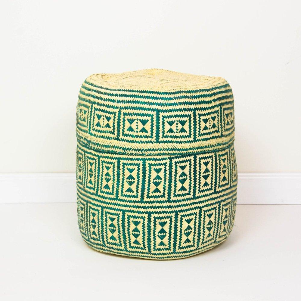 Territory Design    Oaxacan Jarrito Basket // $58.00