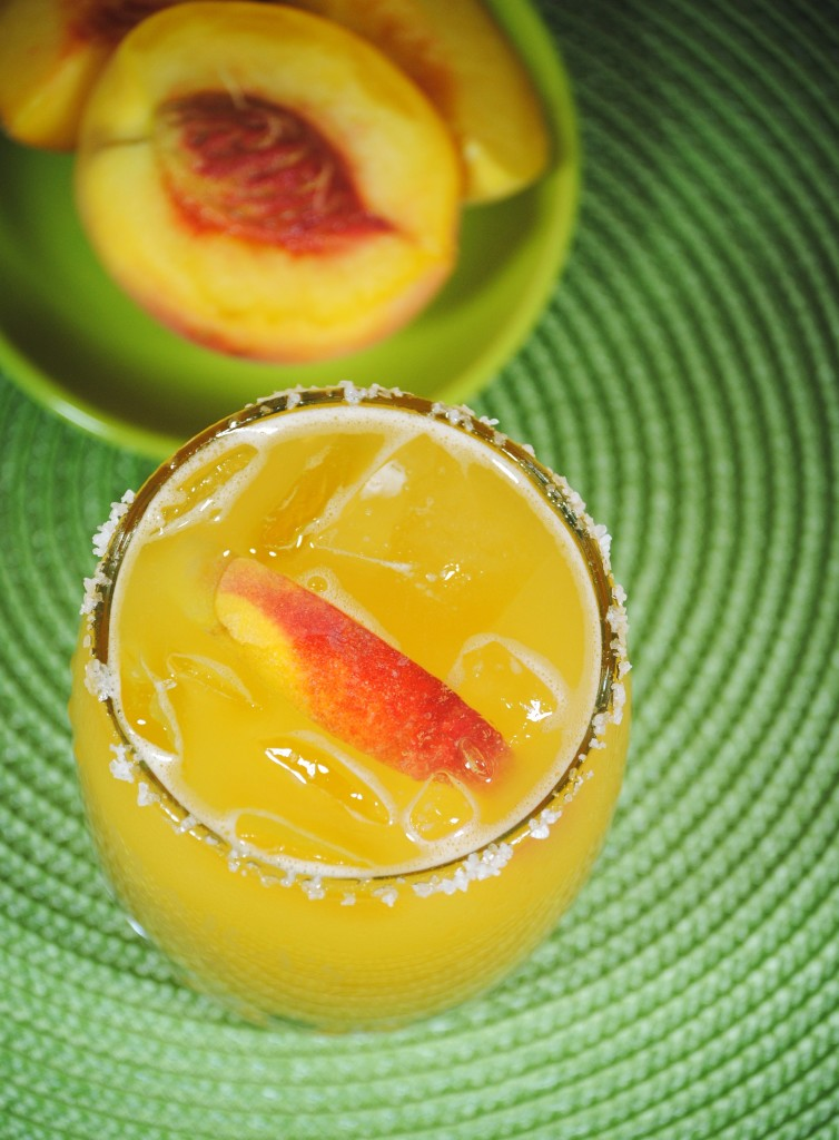 Pictured: Peach Margarita // (Photo Courtesy: SweetLifeBake.com)