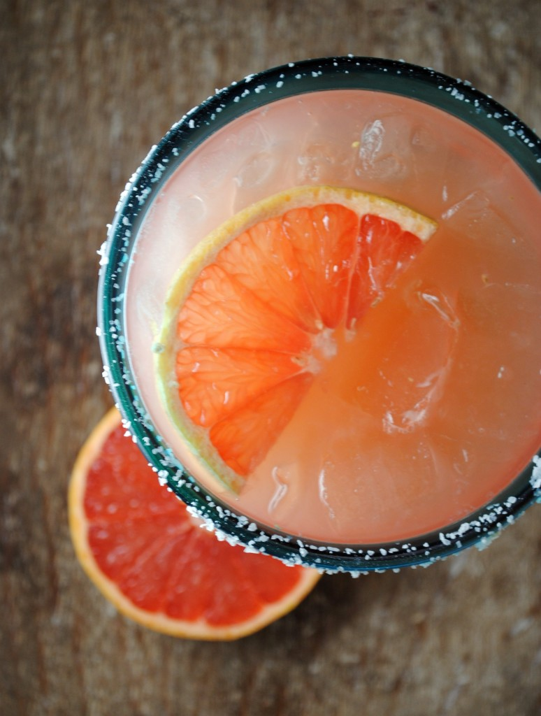 Pictured: Grapefruit Margarita // (Photo Courtesy: SweetLifeBake.com)