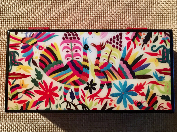 SololiShop    Otomi jewelry box // $25.00
