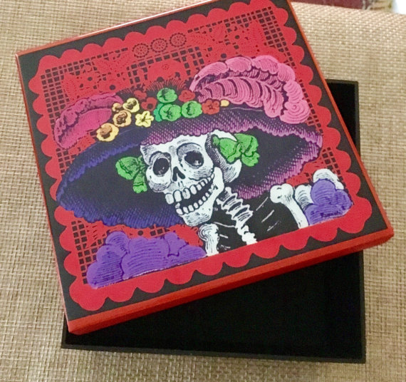 SololiShop    Catrina jewelry box // $30.00
