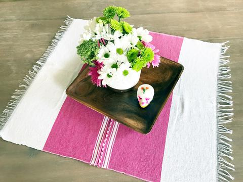 MesaChic Mexican Kitchen Towel - Pink //  $14.95