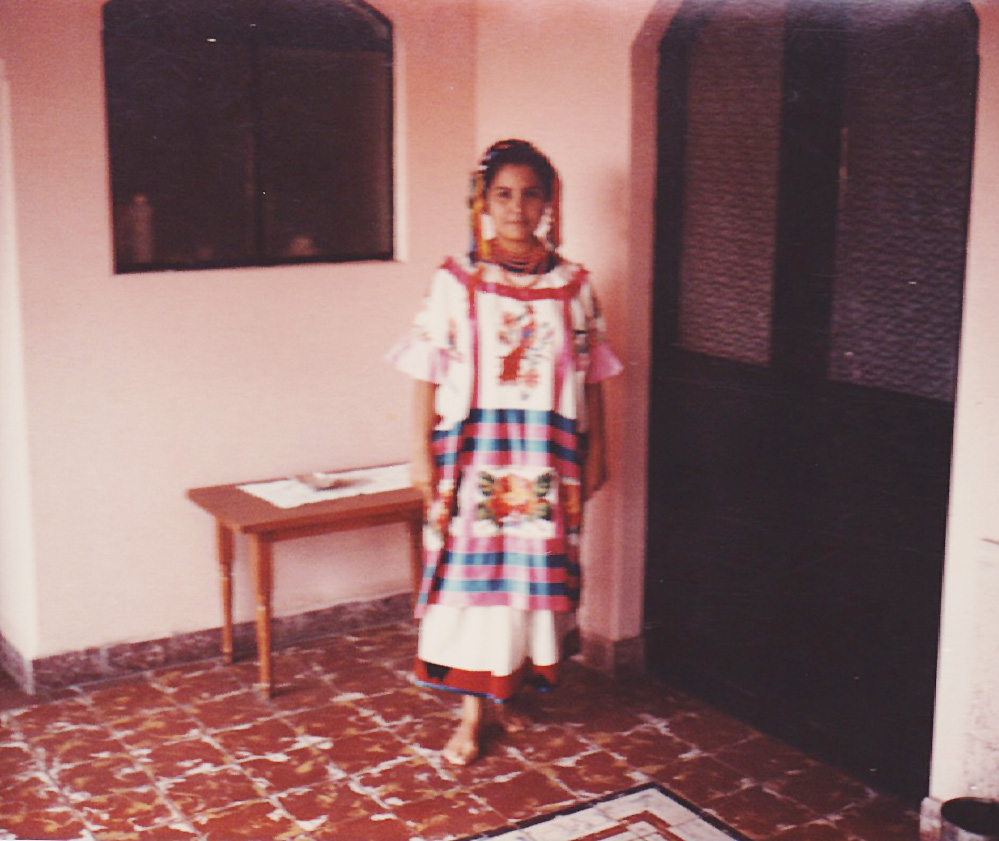 Angelique's grandmother, Beatrice, in Tampico, Mexico. (Photo Courtesy: Angelique Sloan)