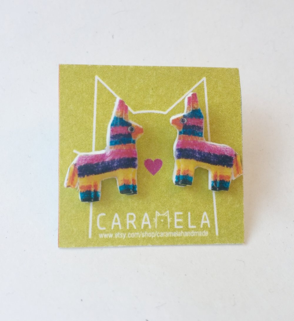 Dos Damas    Piñata Earrings // $25.00