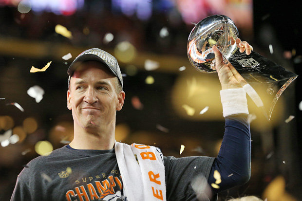 Payton Manning leads the Denver Broncos to victory in Super Bowl 50