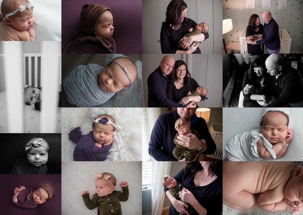 Newborn Posed+Lifestyle Session