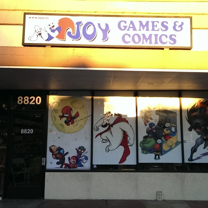 Njoy Comics, Northridge
