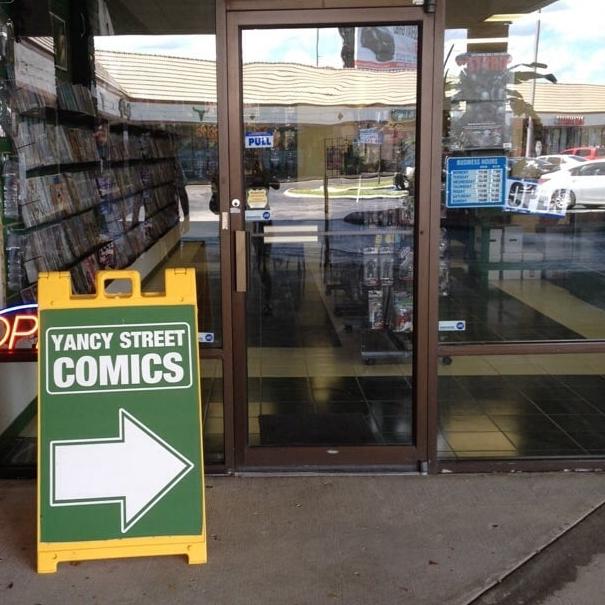 Yancy St. Comics, Tampa