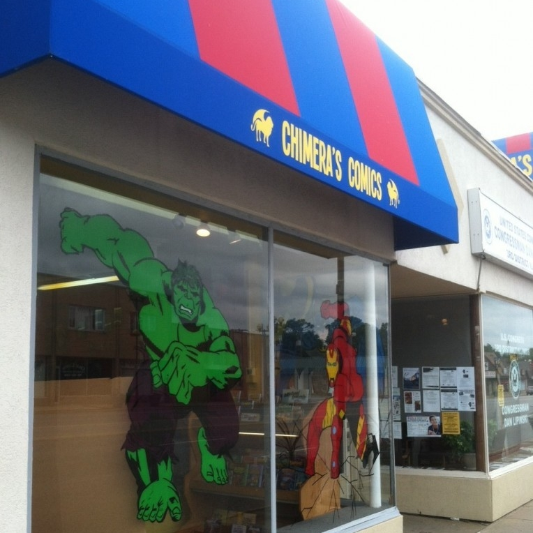 Chimera's Comics, Oak Lawn