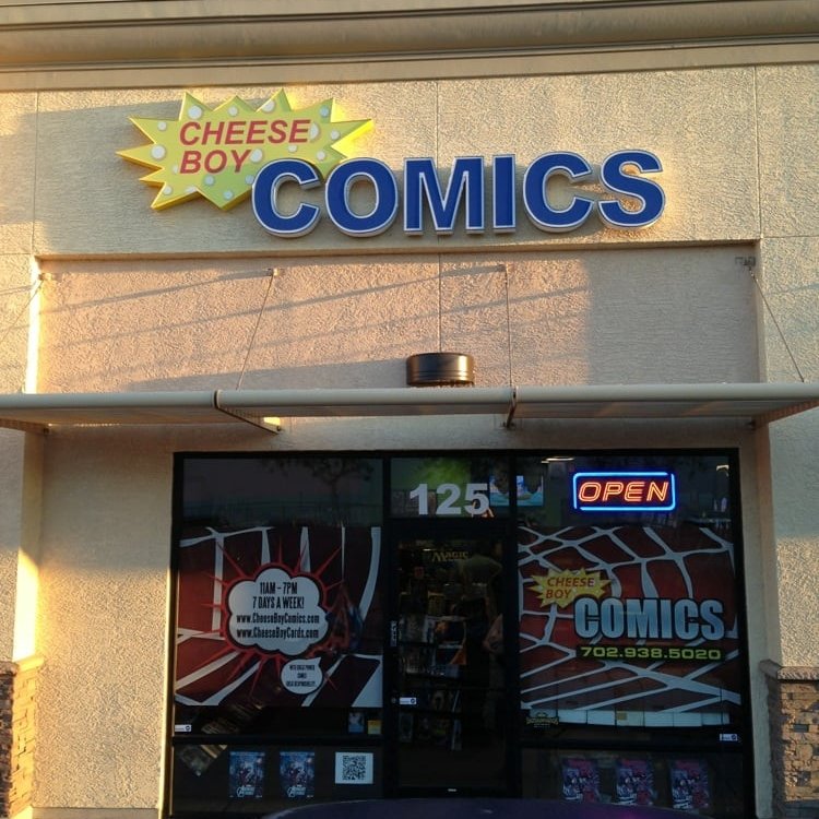 Cheese Boy Comics, Las Vegas