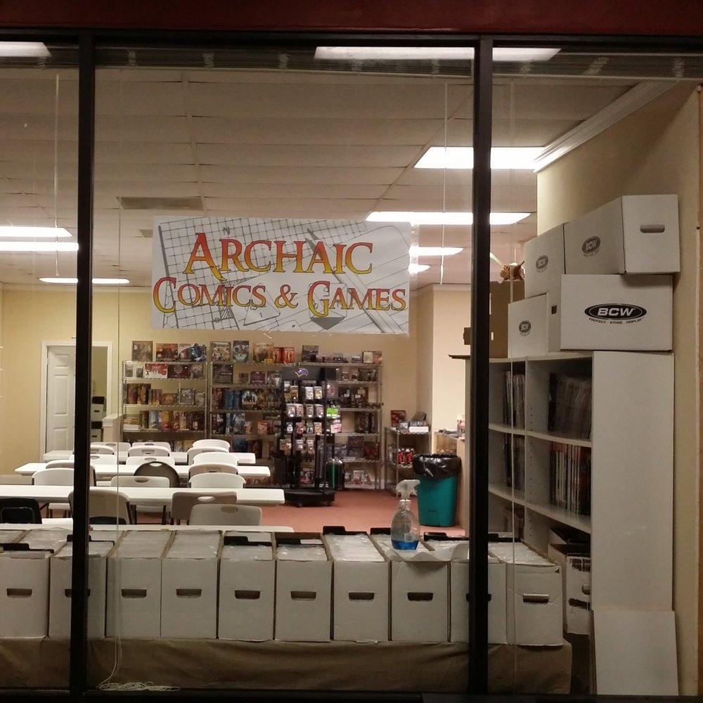 Archaic Comics, Douglasville