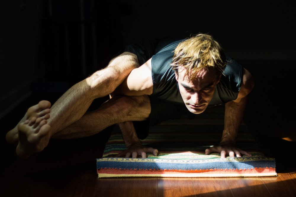 Marc-Cristobal Guilarte - A second generation yogin trained in Sanskrit, yogic texts and practices