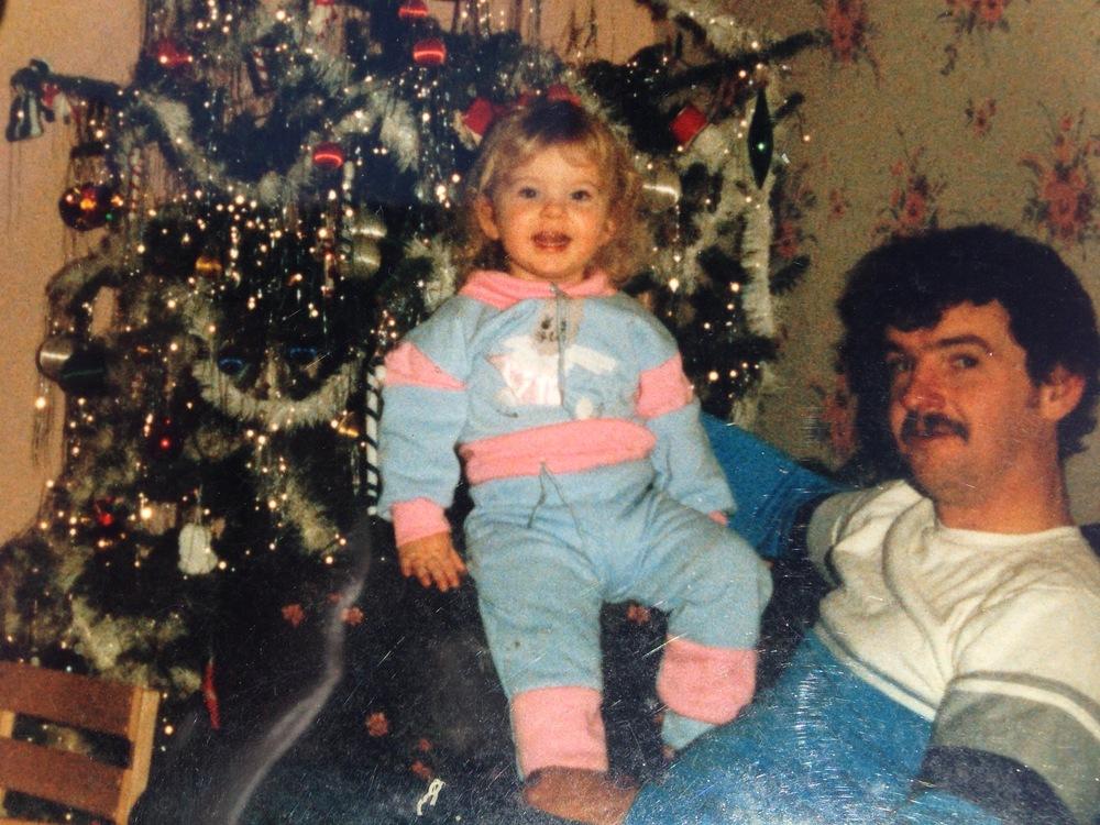 Meghan and Don at Christmas