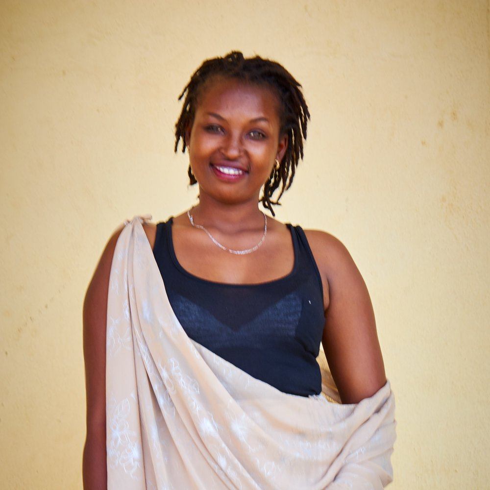 Florence Mukambabazi Florence is a 23 year old jewelry maker and metal smith who graduated from Secondary School in Nyamata with a degree in Mathematics, Economics, and Geography. Florence loves being apart of a movement to empower girls from Nyamata as one of the first metalsmith jewelry makers in Nyamata. She wants to serve as a role model to younger girls in her community so they too can be empowered to be employed and have strong and compassionate African women supporting them.
