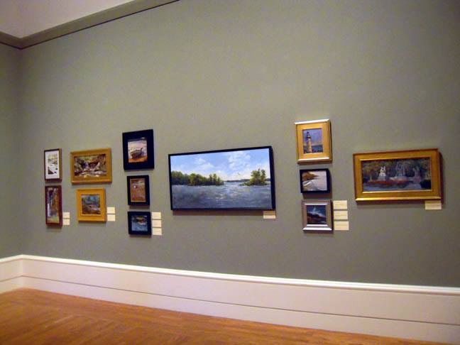 My painting Osprey at the Mudflats was on exhibit at the Springfield Museum of Art.