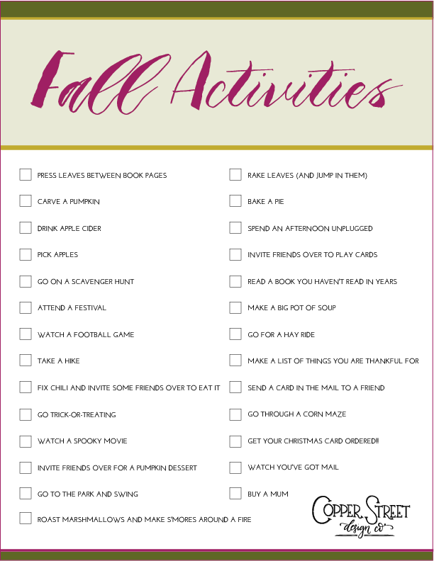 Fall-Activities-Checklist