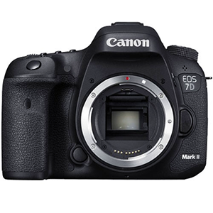 Canon EOS 7D Mark II Digital SLR (Body Only) Daily Rental $100 Weekly Rental $400